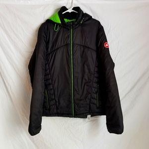 "Castelli ""mechanic"" puffy coat XXL"